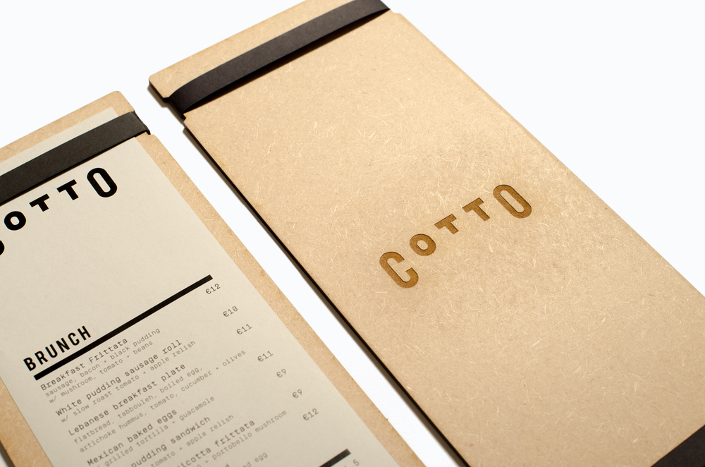 Cotto   – Resturant Identity