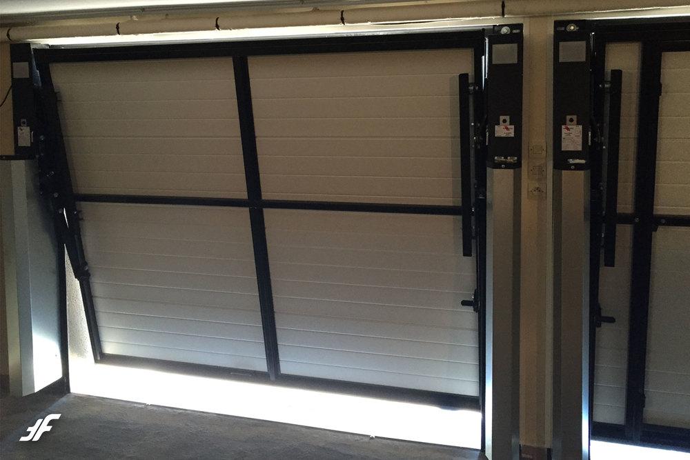 Projet lun ville la fermeture fran aise for Porte de garage b plast