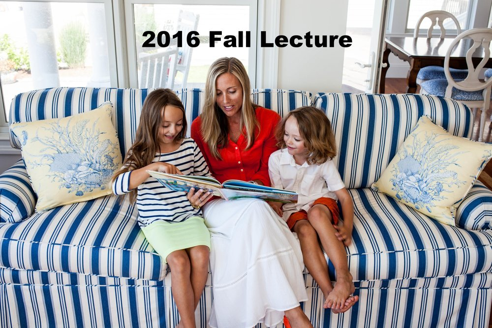 2016 Fall Lecture