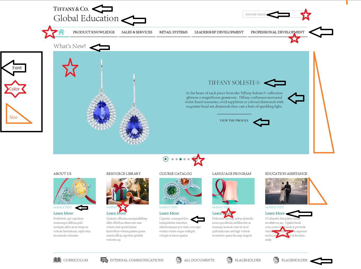 Tiffany & Co.- Global Education Portal — America Montanez