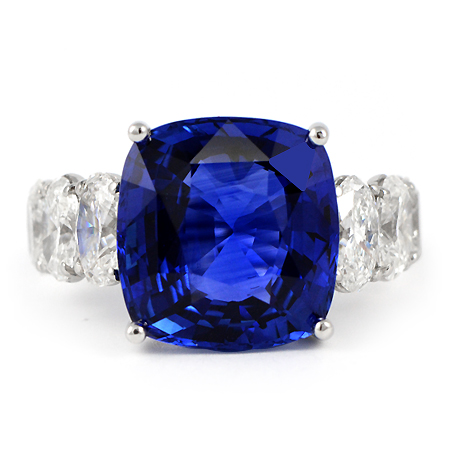 Ceylon Blue Sapphire set in a beautiful ring