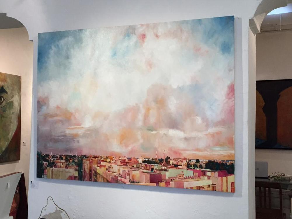 Picture of painting by  Alfredo Lapla      (Copyright: https://www.tripadvisor.com/Attraction_Review-g150811-d8180239-Reviews-La_Sala_Art_Design_Gallery)