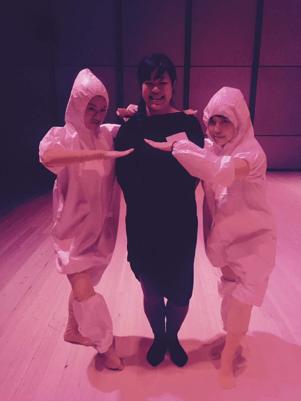 Jen Liu with Yun Chun Chua and Jennifer Chin