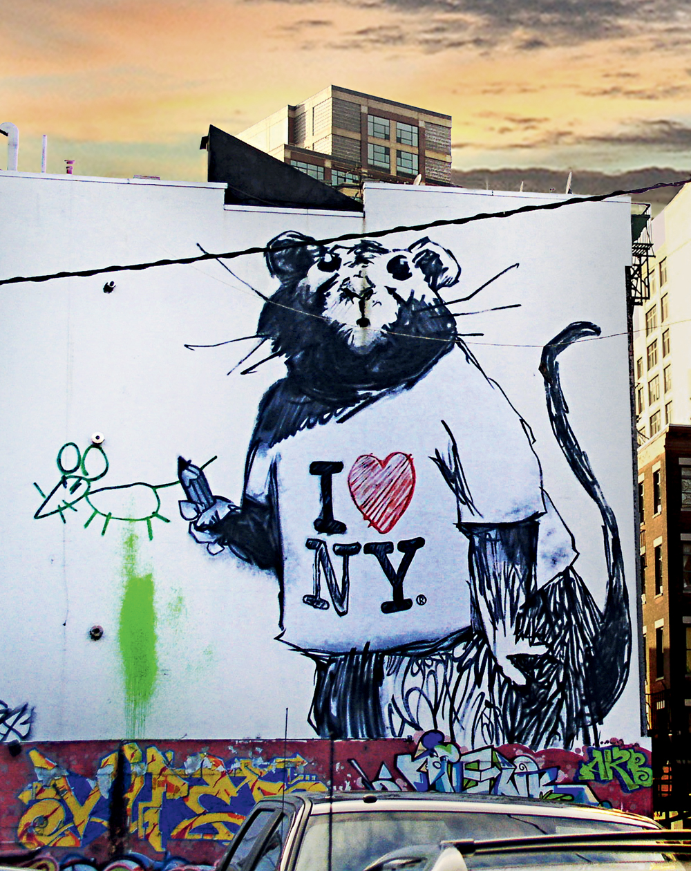 New York street art by Jaime Rojo