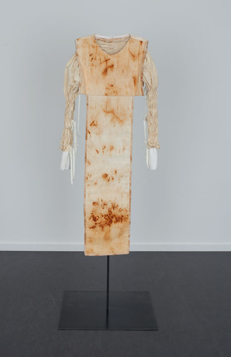 Rusted Tunic with Pleating, The Dowsing 2013