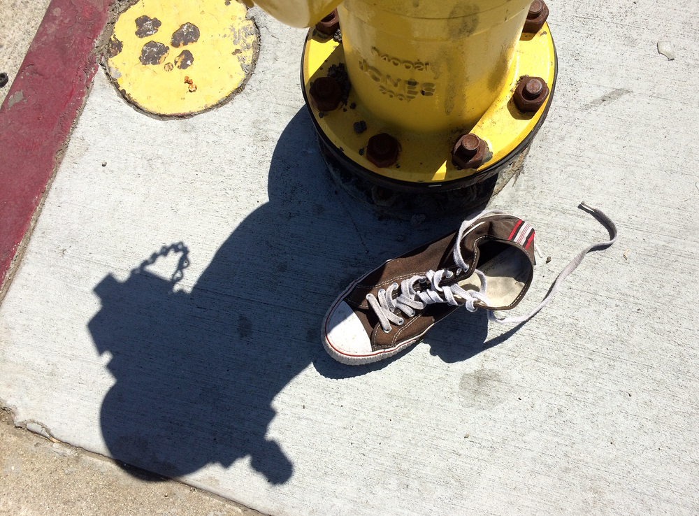Sneaker and fireplug - 1.jpg