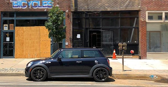 I got my R56 S back and man is this thing amazing. Thanks to @miniofthemainline for the great work and the loaner car.  Thanks @zdravkomiric for the connect ;). I abuse this car and it takes it like no other. #miniusa #mini #r56