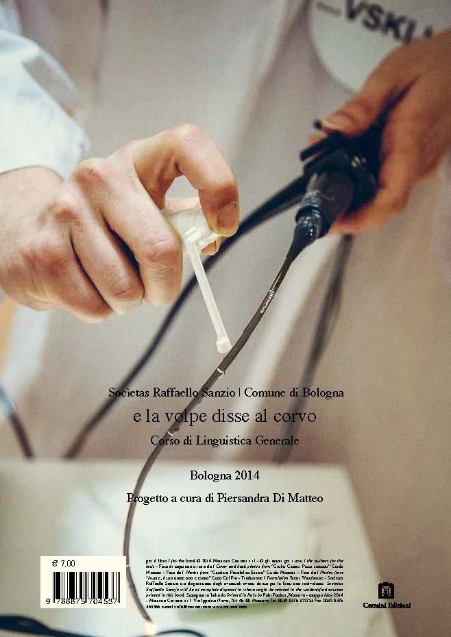 Romeo Castellucci | Canto del Cigno   Socìetas Raffaello Sanzio,Romeo Castellucci and Piersandra Di Matteo   Back Cover   Corraini Edizioni, 2014
