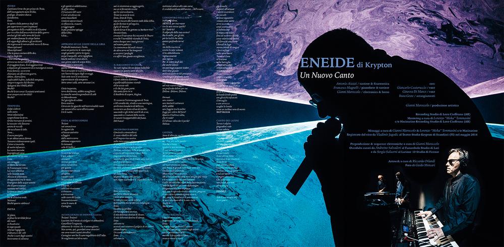 Teatro Studio Krypton  Eneide di Krypton.Un nuovo canto   Teatro Studio Krypton and Beau Geste   CD/LP   Tannen Records,2014