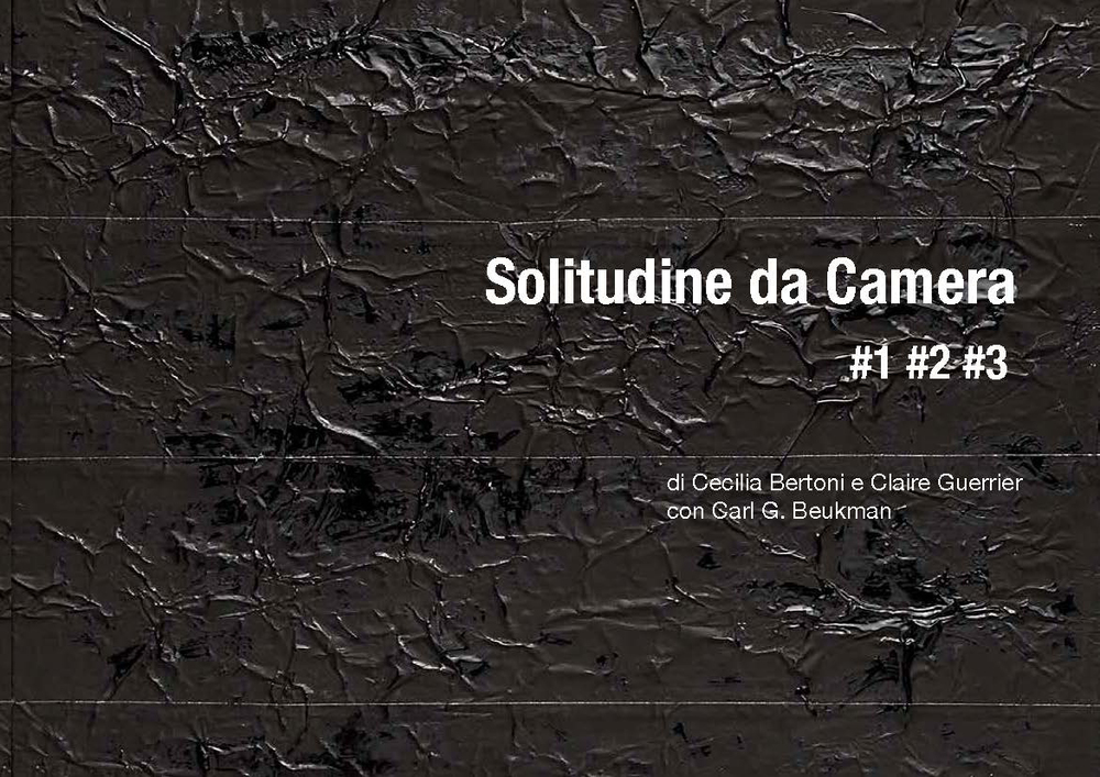 Cecilia Bertoni and Claire Guerrier with Carl G. Beukman  Solitudine da Camera #1 #2 #3    Book   Associazione Culturale Dello Scompiglio, 214