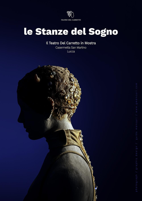 Teatro Del Carretto | Le Stanze del Sogno    Poster   Graphic Design Guido Mencari  2017