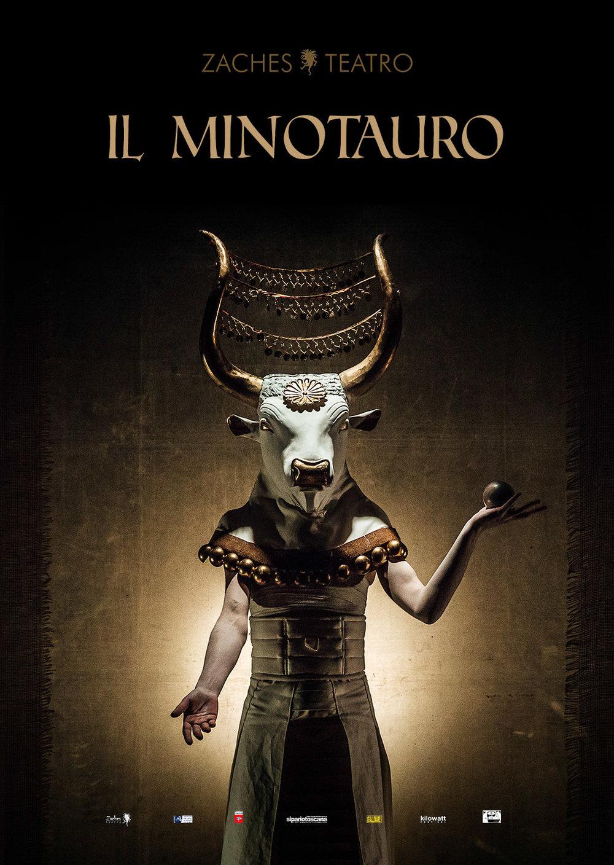 Zaches Teatro | Il Minotauro    Poster   Graphic Design Guido Mencari  2015