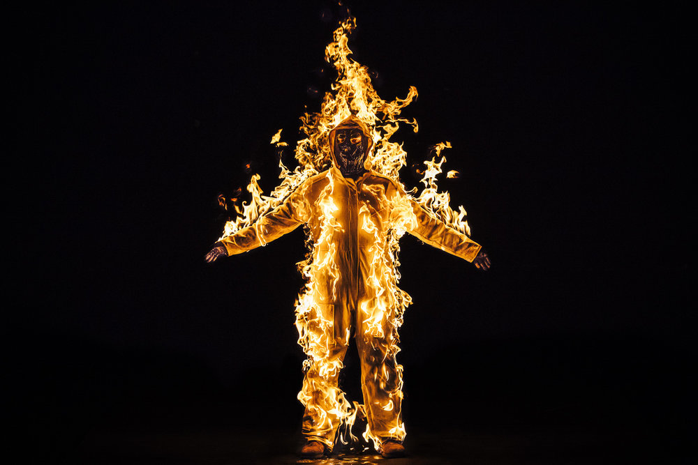 Cassils | Inextinguishable Fire    Spill Festival of Performance   London, 2015