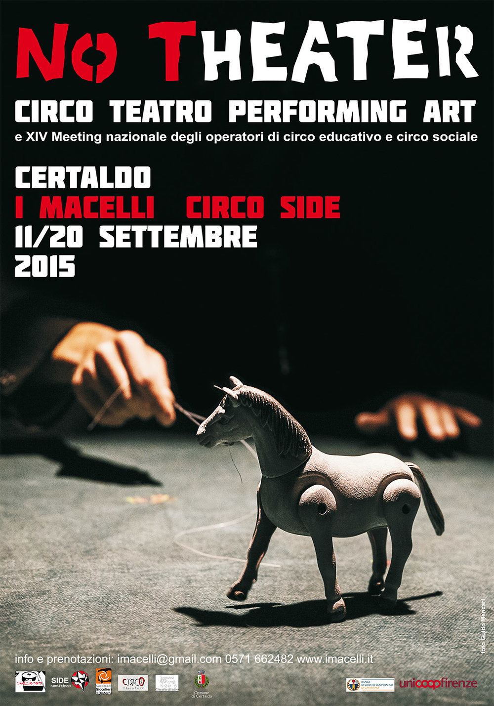NoTheater Festival   I Macelli   Poster   2015