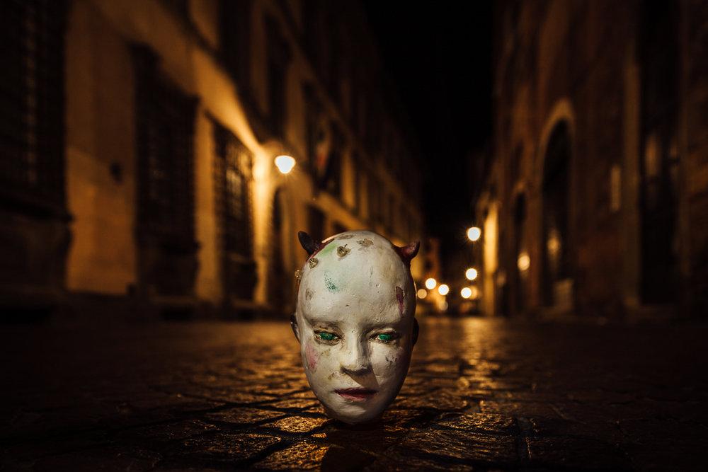 Teatro Del Carretto | Le Stanze del Sogno   Postcard   2016