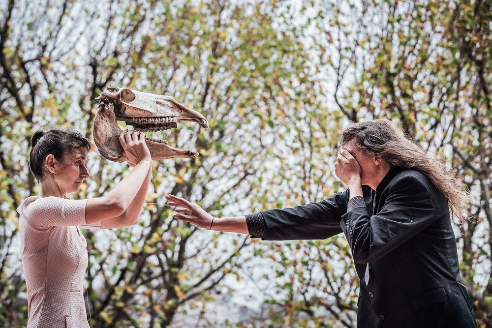 Zierle & Carter | Walking the Dawn    Spill Festival of Performance   London, 2015
