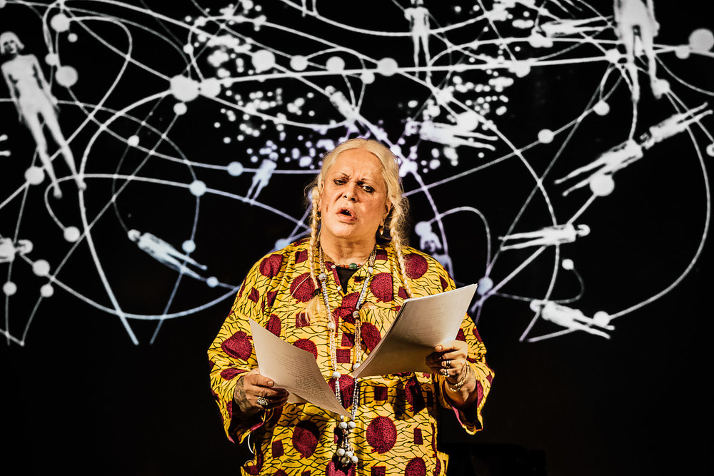 Genesis Breyer P-Orridge |Cut Ups, Behavioural Magic, Unity, Spirit and Evolution. Possibilities of Change towards Utopian Futures    London, 2015
