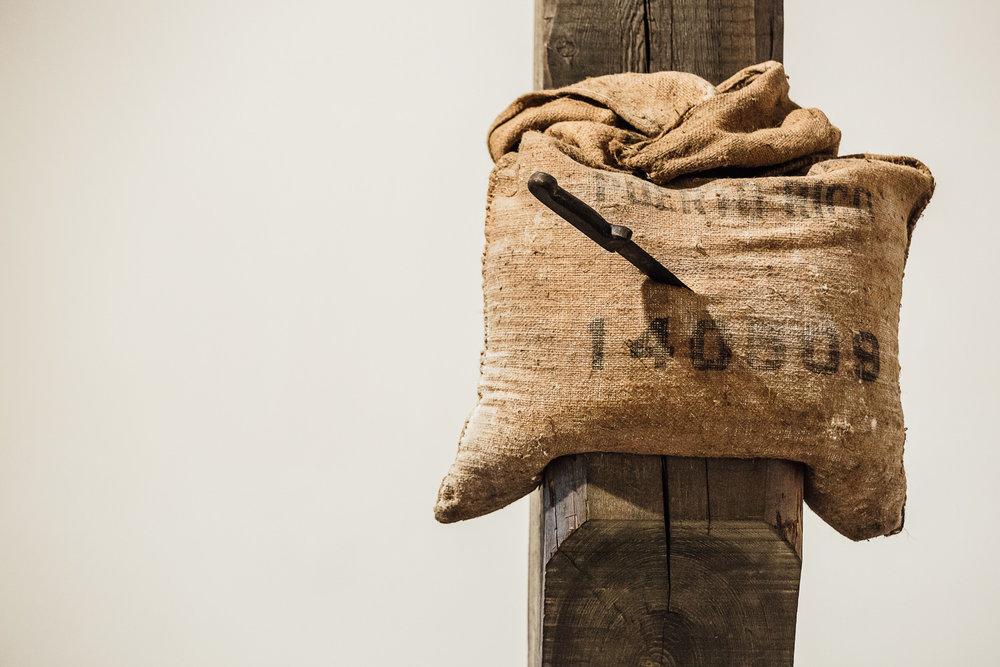 Jannis Kounellis |Senza Titolo   Galleria Continua  San Gimignano, 2015