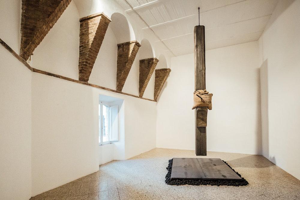 Jannis Kounellis  Senza Titolo   Galleria Continua  San Gimignano, 2015