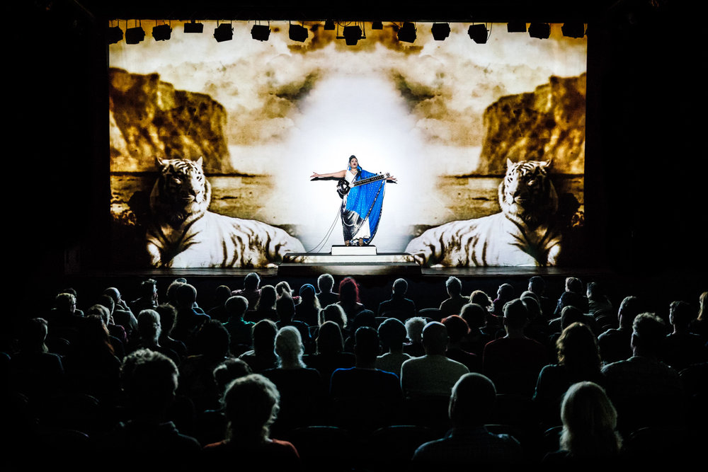 Bishi and Matthew Glamorre |Albion Voice    Spill Festival of Performance   Ipswich, 2014