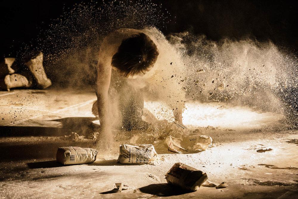 Debbie Guinnane |Gastropoda    Spill Festival of Performance   Ipswich, 2014