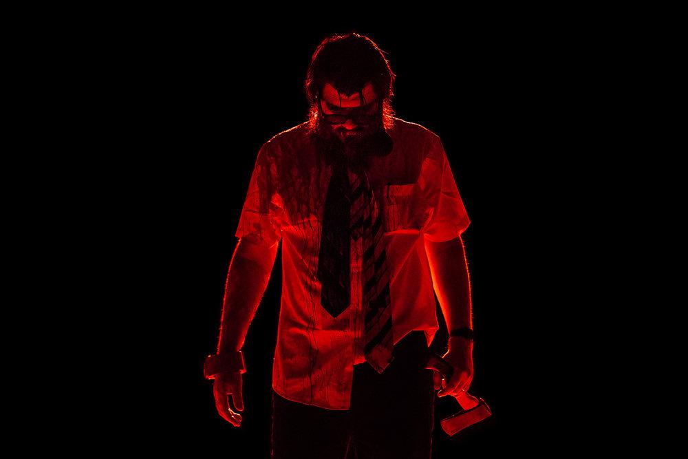 Daniel Oliver |Weird Séance    Spill Festival of Performance   Ipswich, 2014