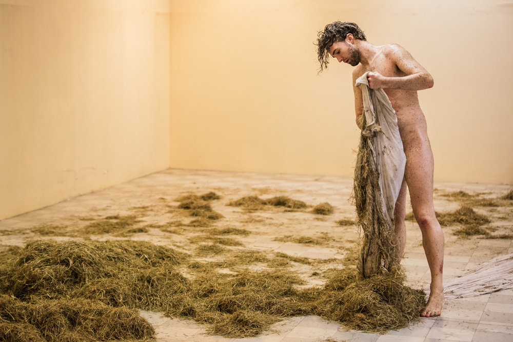 Robert Hardaker | Plough Your Own Furrow    Spill Festival of Performance   Ipswich, 2014