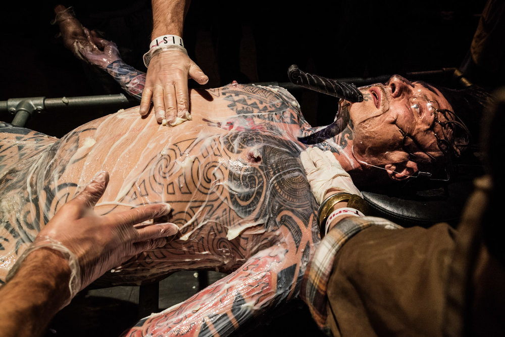 Ron Athey | Incorruptible Flesh: Messianic Remains    Spill Festival of Performance   Ipswich, 2014