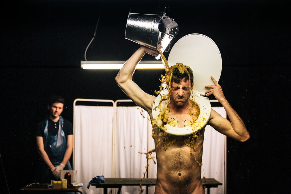 Martin O'Brien |Last(ing)    Spill Festival of Performance   London, 2013