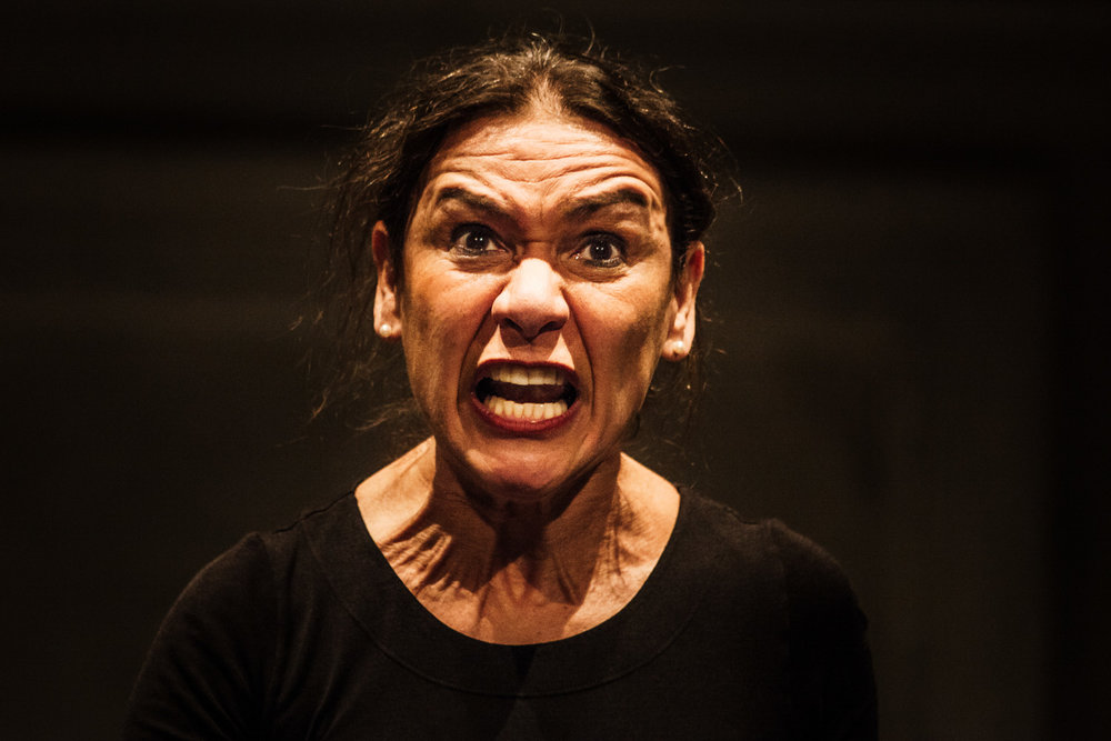 Roberta Carreri  Orme sulla Neve.Autobiografia artistica di un'attrice   Nordisk Teaterlaboratorium Odin Teatret, directed by Roberta Carreri. With Roberta Carreri  Lucca, 2012