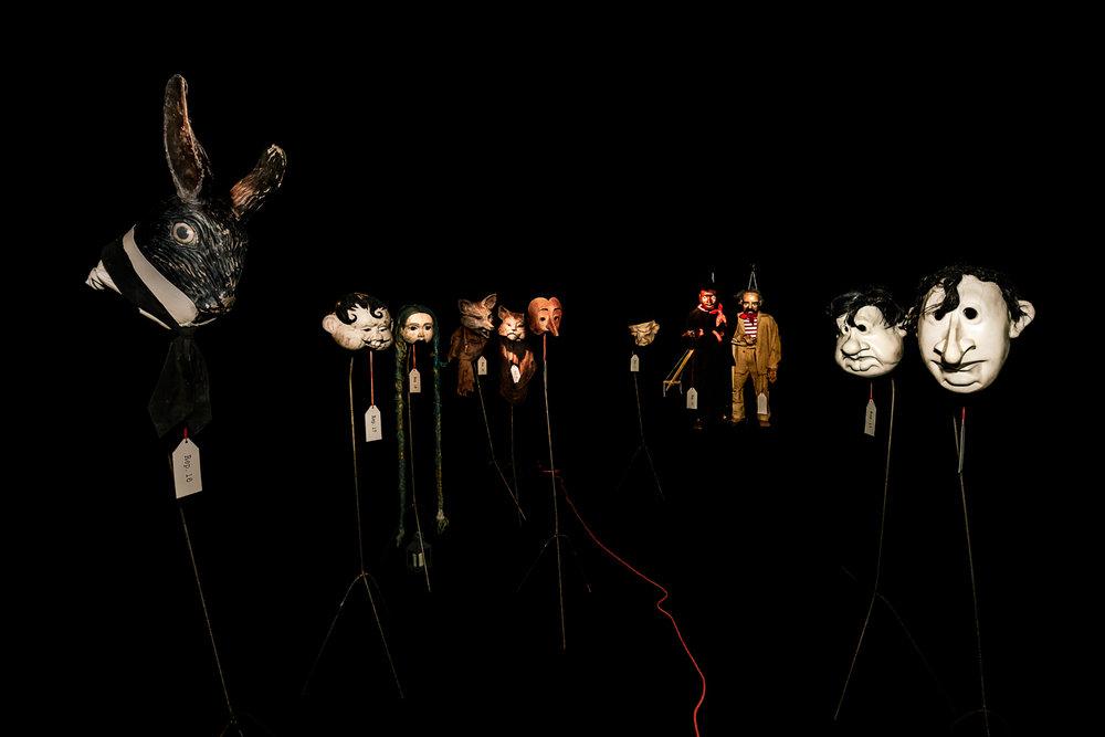 Zaches Teatro | Wunderkammer 10. Adoratori di feticci    Kilowatt Festival   San Sepolcro, 2017
