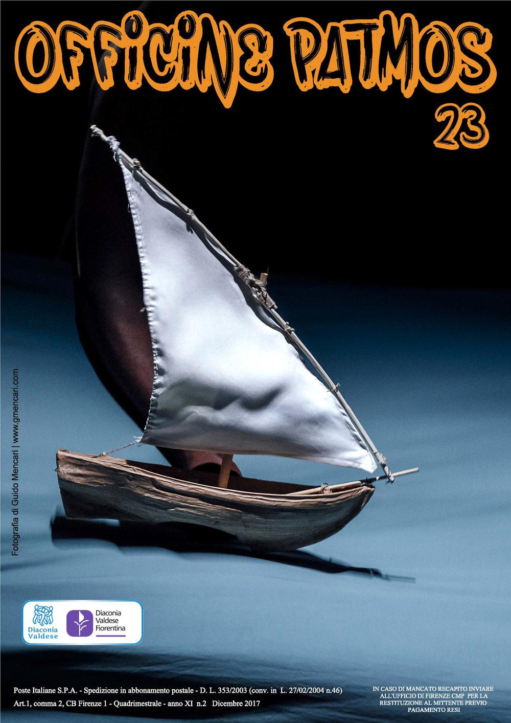 MigrAzioni#Scandicci Zaches Teatro   Sandokan    Magazine cover   Officine Patmos, 2017