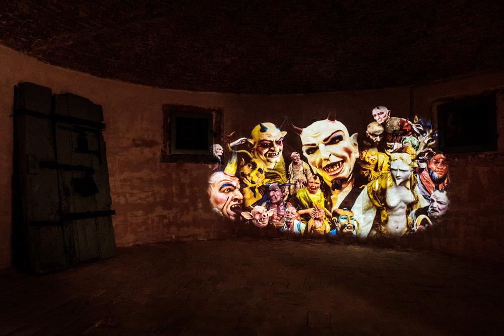 Progetto Hybris | Visioni dall'Impossibile   Music and sound design Andrea Salvadori. Visual design Lavinia Baroni. Light design Andrea Berselli  Volterra, 2017