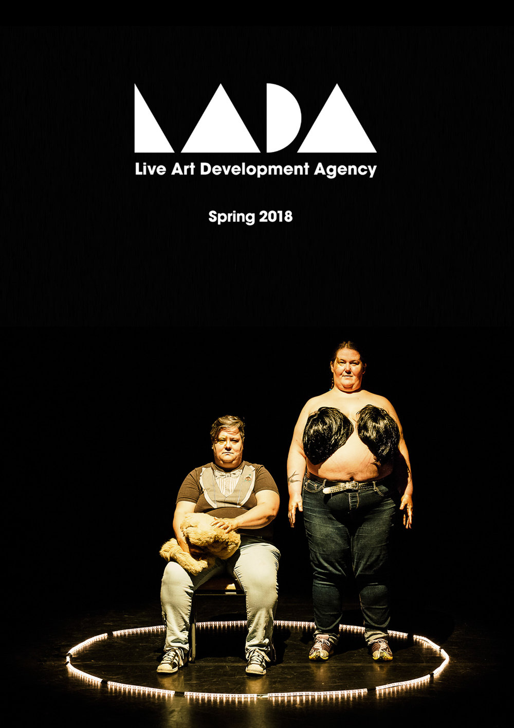 LADA   Live Art Development Agency   Swagga   Projecto O   Poster   London, 2018
