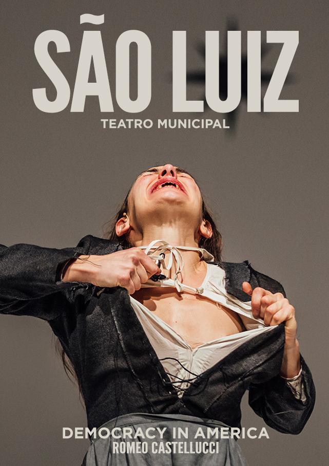 Romeo Castellucci | Democracy in America    Poster   Sào Luiz Teatro Municipal, 2018