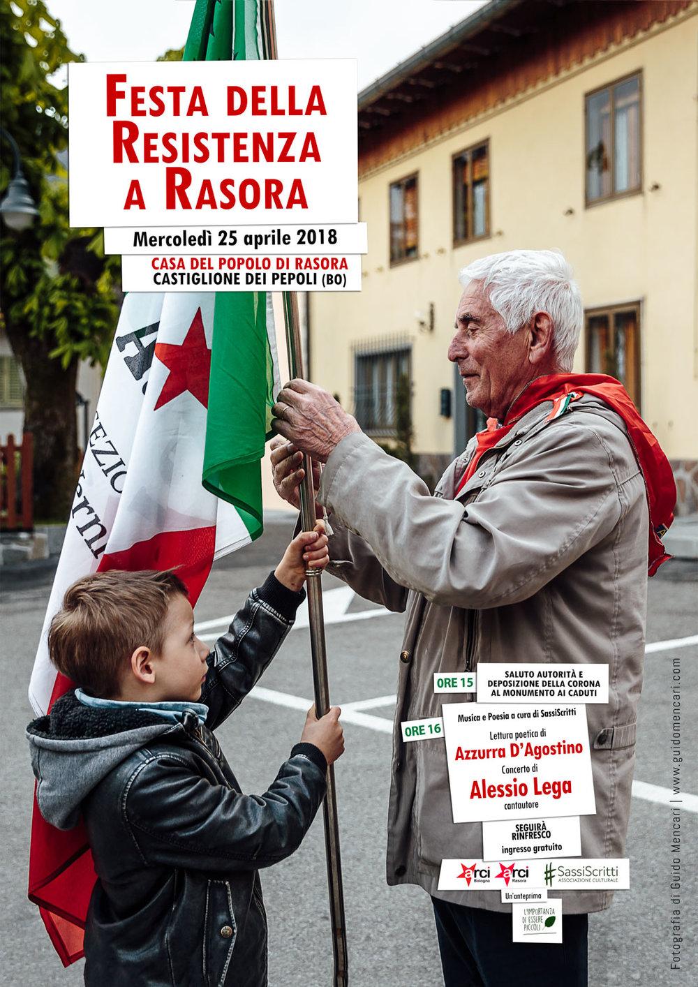 Festa della Resistenza a Rasora    #1   2018