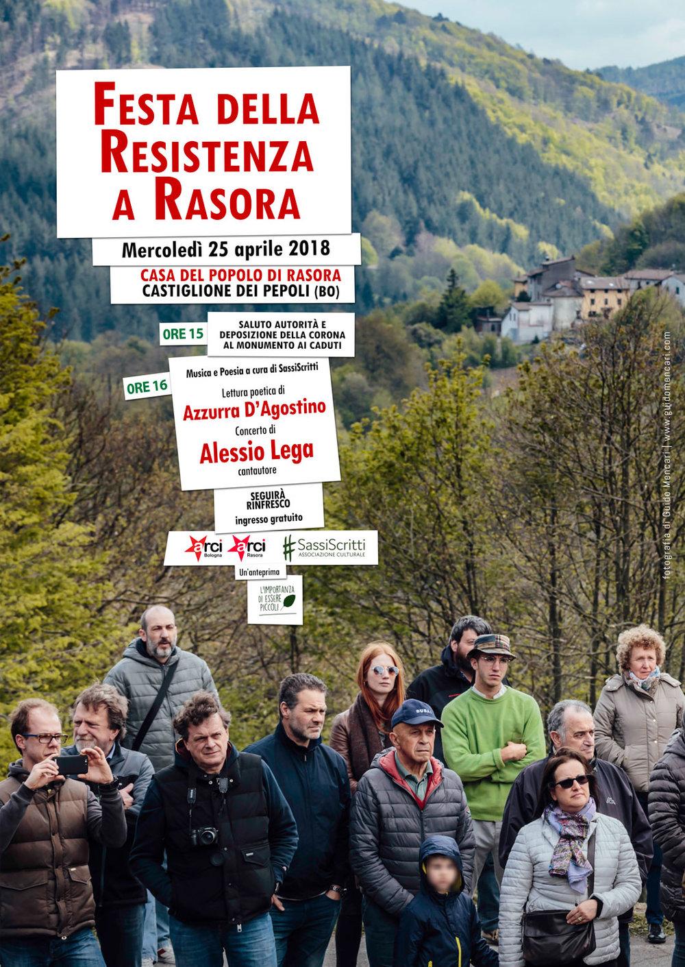 Festa della Resistenza a Rasora    #2   2018