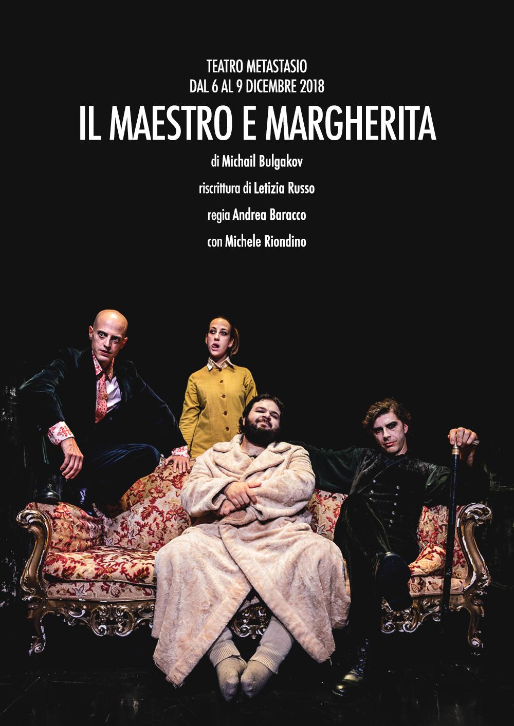 Andrea Baracco   Il Maestro e Margherita