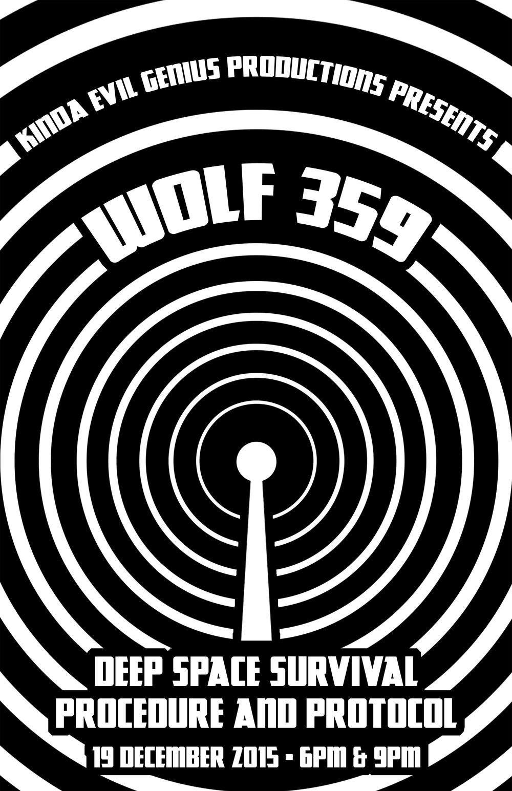 Wolf359-DeepSpaceSurvival-Poster