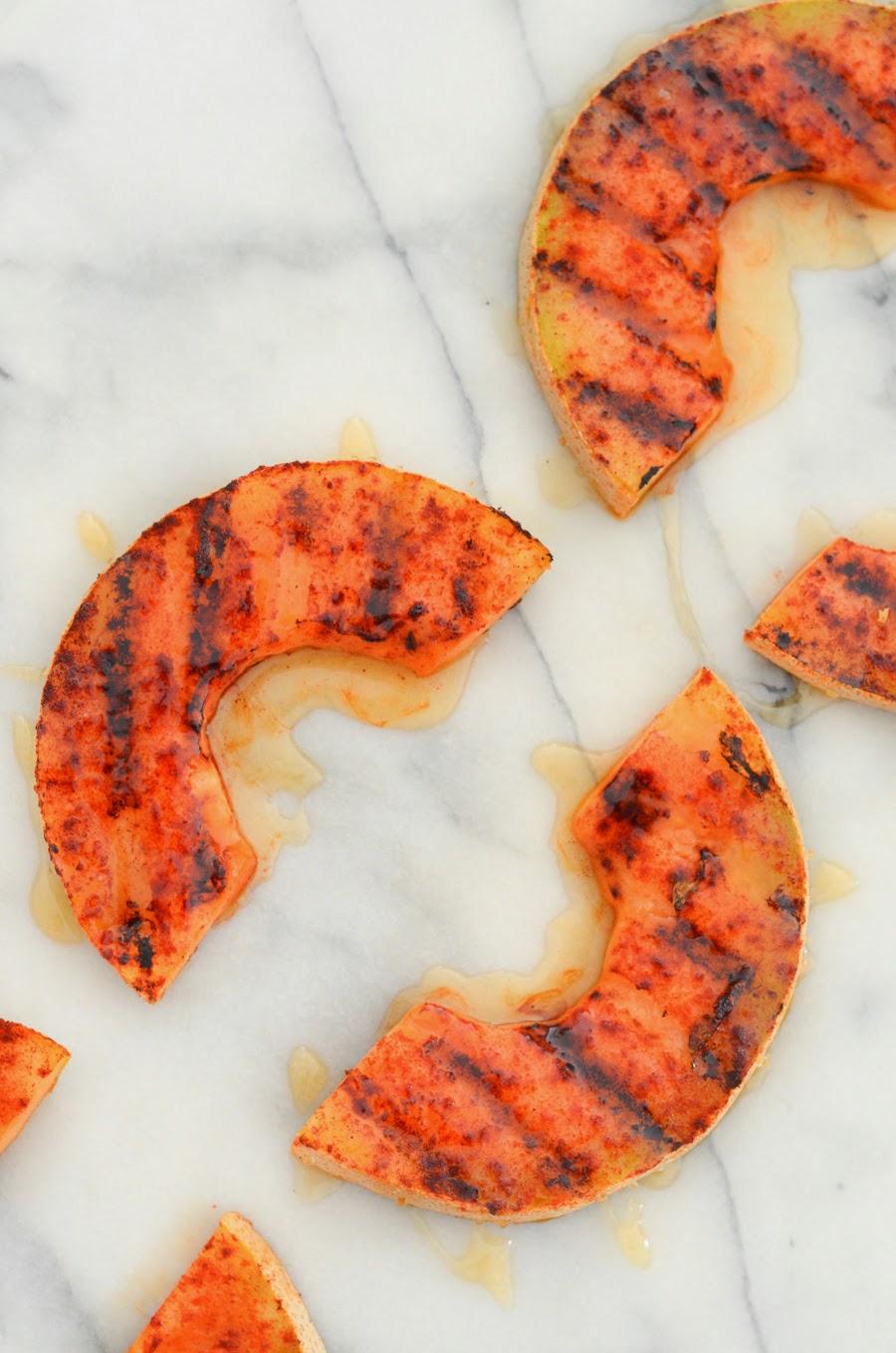 Grilling Cantaloupe