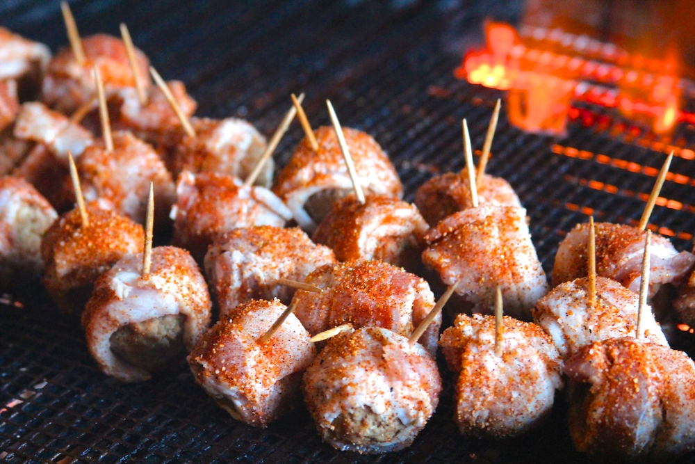 MOINK Balls on the Grill