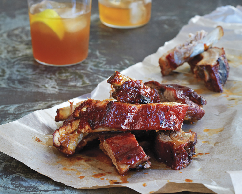 Smoked Babyback Ribs; Photo by Lucy Schaeffer
