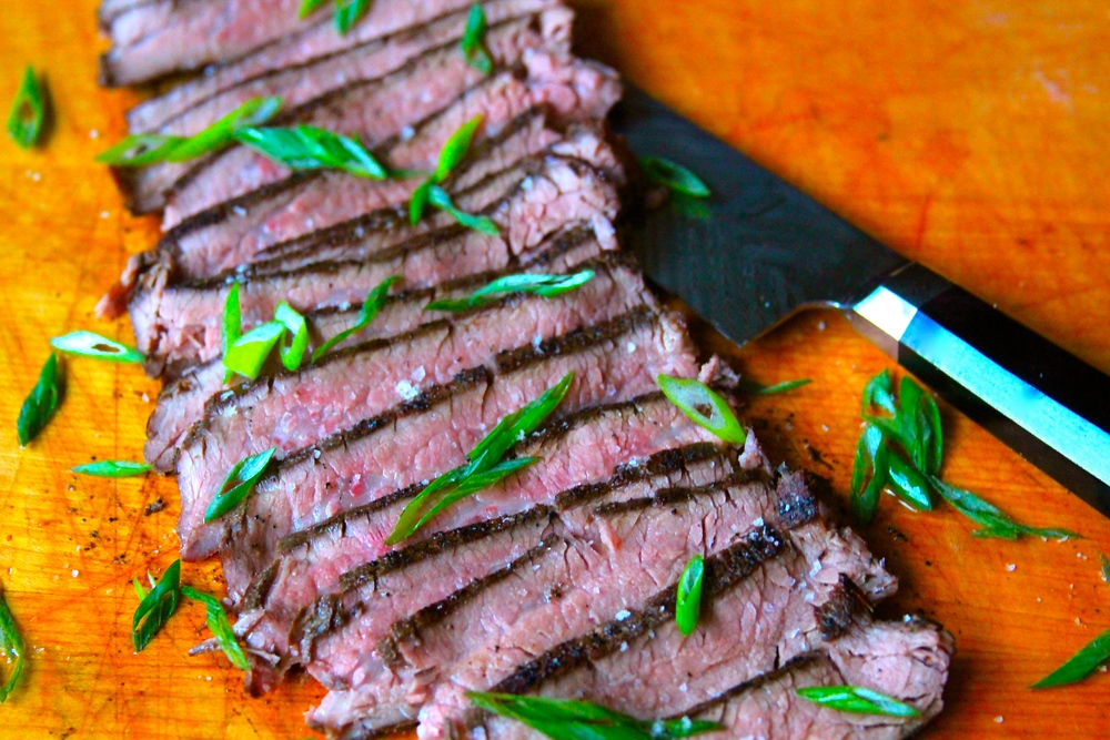 Grilled Sous Vide Flank Steak