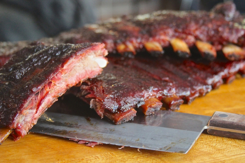 Smoked Honey and Soy Glazed RIbs