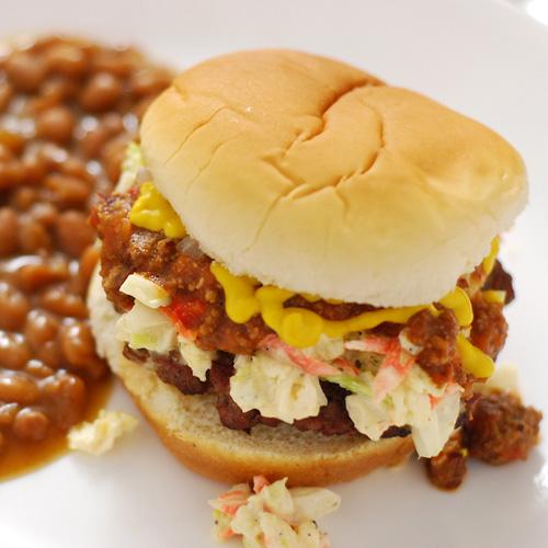 NibbleMeThis Carolina Burger