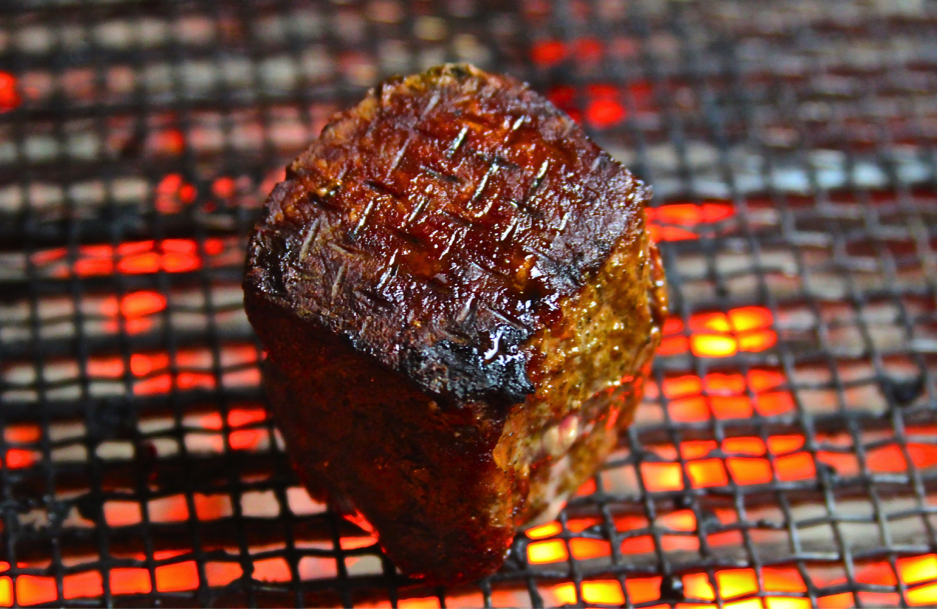 Grilled Venison Fillets