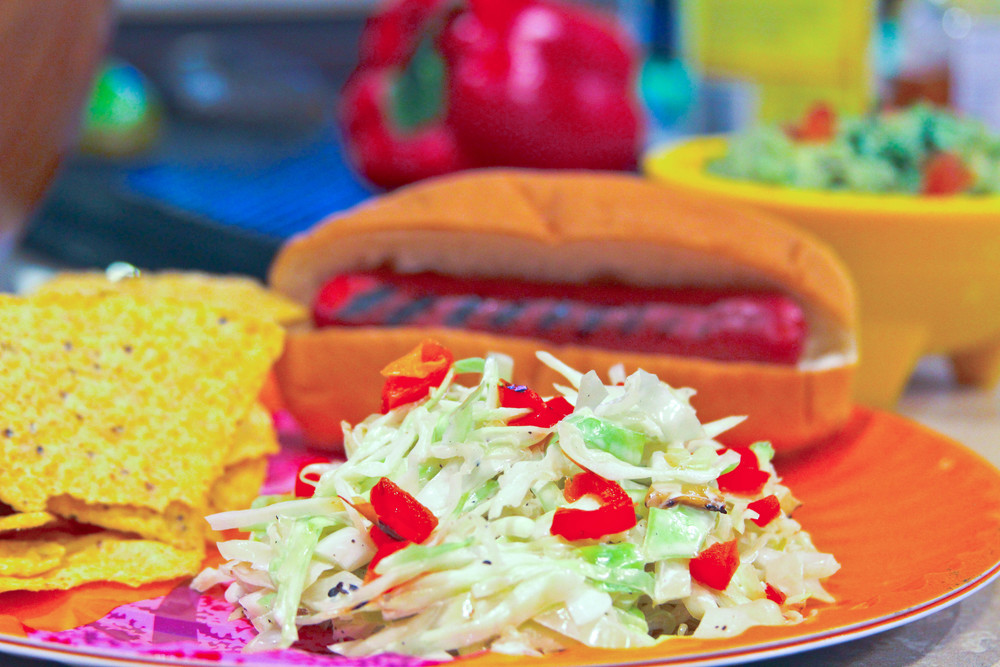 Grilled Coleslaw Recipe