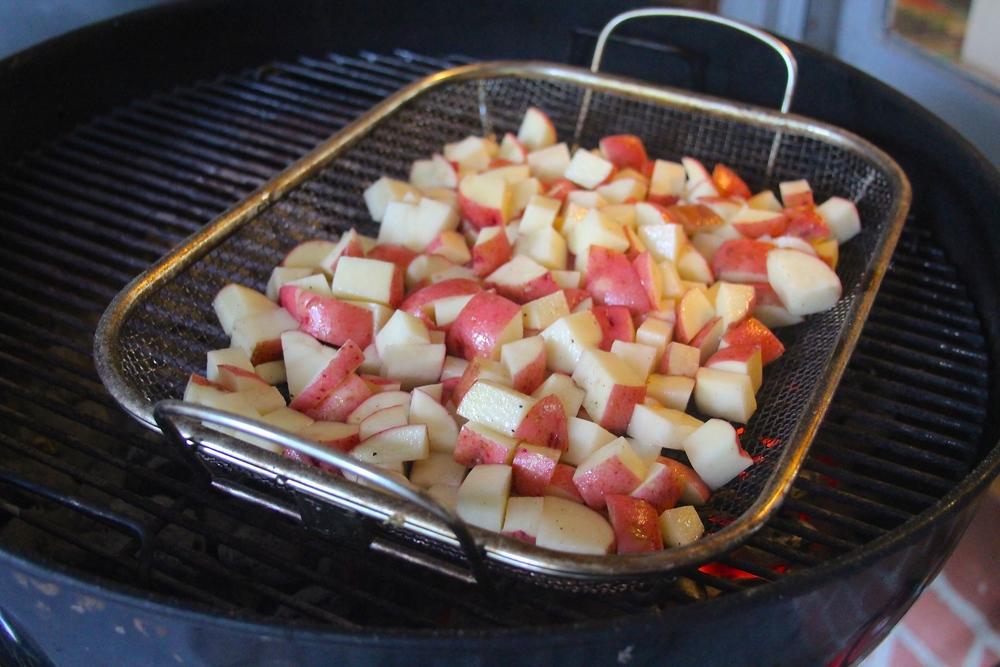 Grilling Potatoes