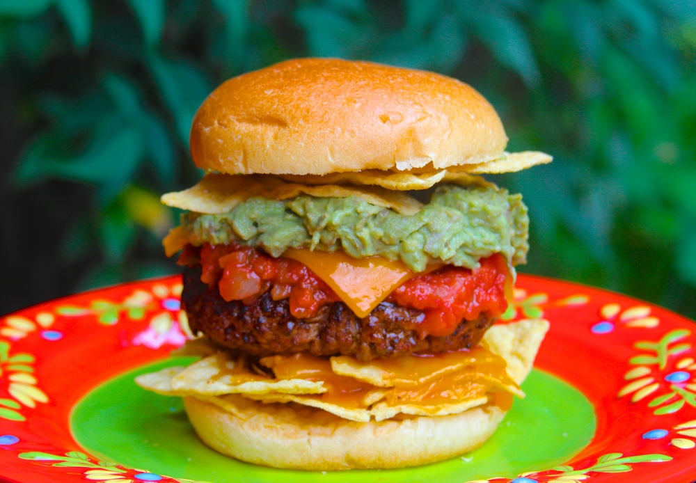 Grilled Nacho Burger