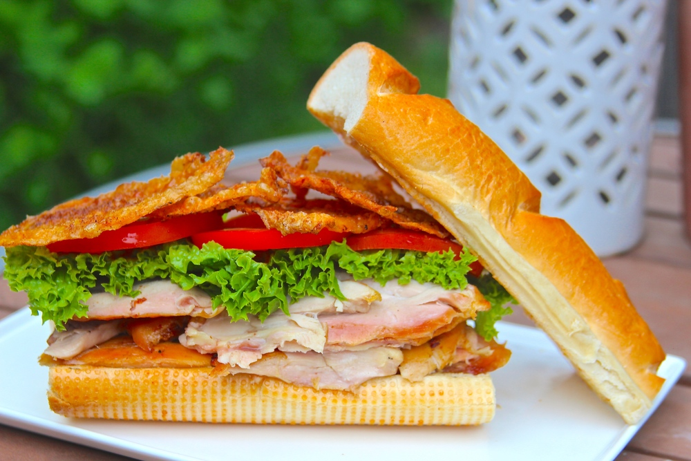 Grilled Chicken Bacon Sandwich